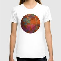 baroque T-shirts featuring Baroque Cubism by Tony Vazquez