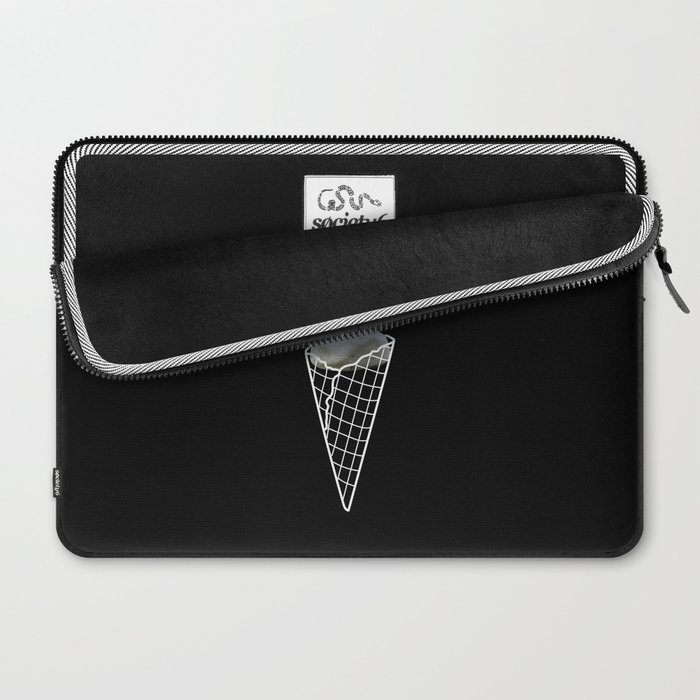 Stone Cold Ice Cream Laptop Sleeve