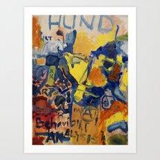 Behaviour analysis Art Print