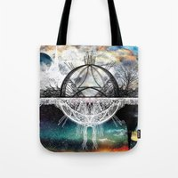 discount Tote Bags featuring TwoWorldsofDesign by J.Lauren