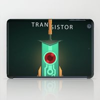 transistor iPad Cases featuring Transistor [2] by Spiritius