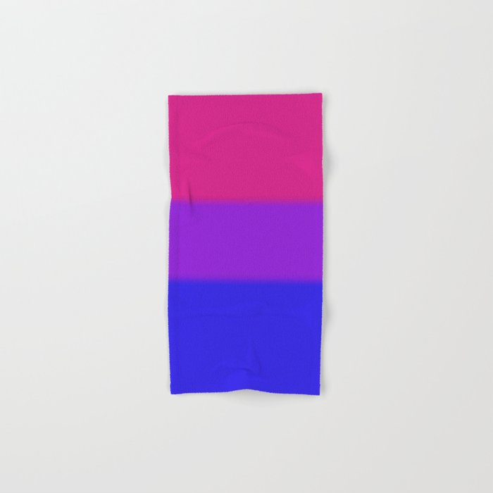 Bisexual Pride Flag Hand & Bath Towel