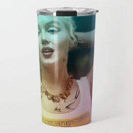 Marylin tattoo Travel Mug