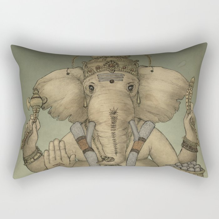 Ganesha Rectangular Pillow