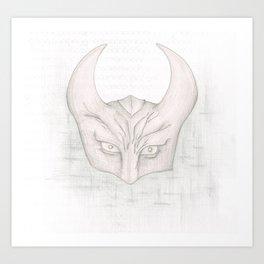 Satan #2 Art Print