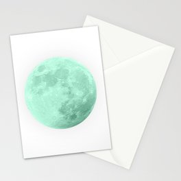 TEAL MOON Stationery Cards
