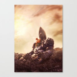 Space Marine Canvas Print
