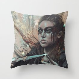 The Commander Throw Pillow