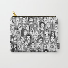 WOMEN OF THE WORLD BW Carry-All Pouch