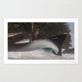 surfEXPLORE Indonesia Art Print