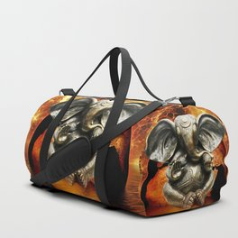 Elephant Ganesha and Earth Duffle Bag