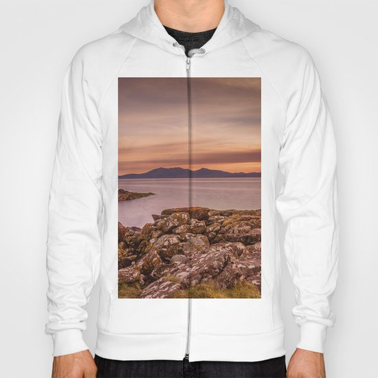 Arran Sunset Hoody