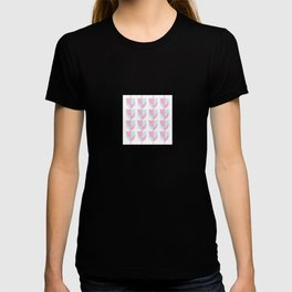 Tulips In Amsterdam - Pink and Blue T-shirt