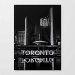 Toronto City Hall No 1 Canvas Print