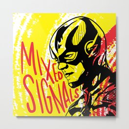 Mixed Signals Metal Print