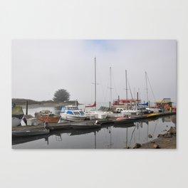 Boats of Morro Bay, Ca Canvas Print