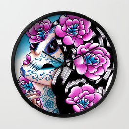 A Moment of Silence Wall Clock