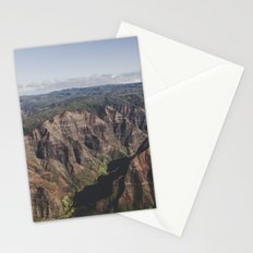 Canyon - Kauai, HI Stationery Cards