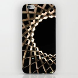 Wood sculpture iPhone Skin