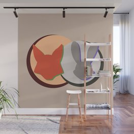 Nick and Judy Logo Design  Wall Mural