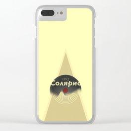 Solaris 1972 Clear iPhone Case