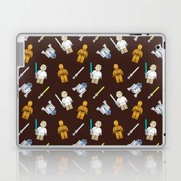 R2D2+3CPO+Luke in Brown Laptop & iPad Skin