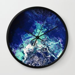 Gatria - Abstract Costellation Painting Wall Clock