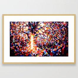 Forest God (Spirit of place) Framed Art Print