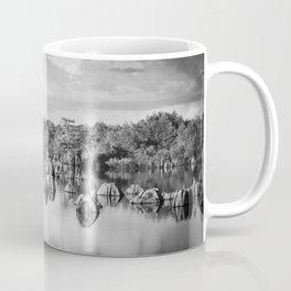 Dead Lakes Florida Black and White Coffee Mug