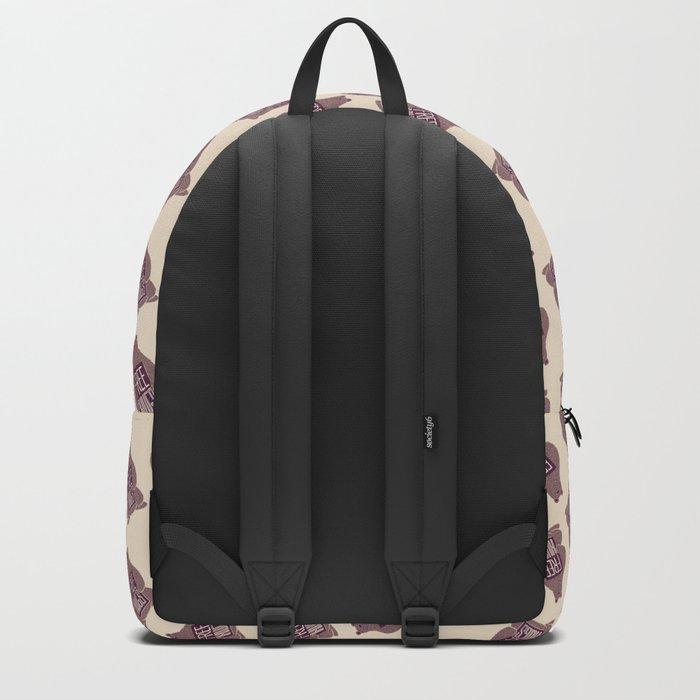 Free Hugs Bear Backpack