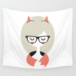 Call me Foxy! Wall Tapestry