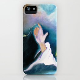 A BULLET MET BY GOD ...special edition iPhone Case