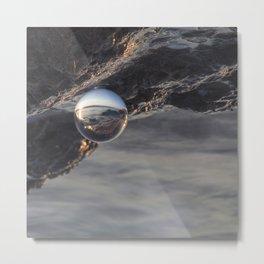 Through the sphere #3 Metal Print