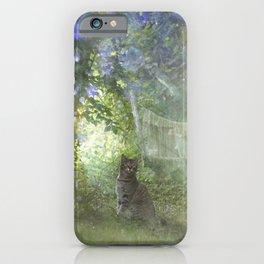in Angel's Garden iPhone Case