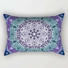 Dragonfly Mandala Rectangular Pillow