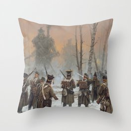 25 February 1831 Throw Pillow