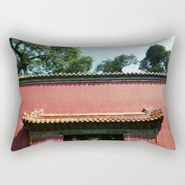 Beijing Red II Rectangular Pillow
