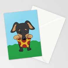 Paco Love Pizza Stationery Cards