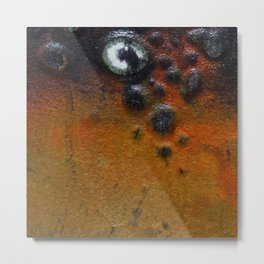Beauty By the Square Inch  - Purple Bubbles Metal Print