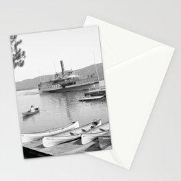 The Sagamore Lands at Roger's Slide Boathouse Stationery Cards