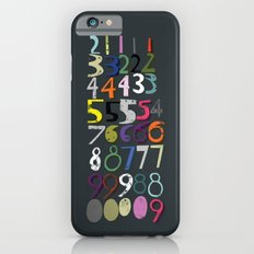 Numbers Slim Case iPhone 6s