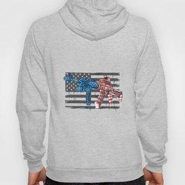 Usa Army America Soldier Weapon Ak 47 Usa Flag (1) Hoody