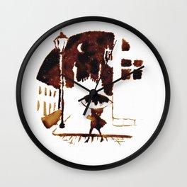 Late Moon Wall Clock