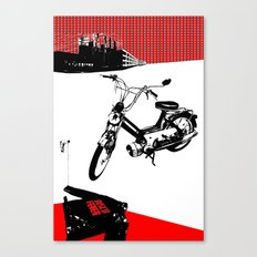 Dearborn Moped Canvas Print