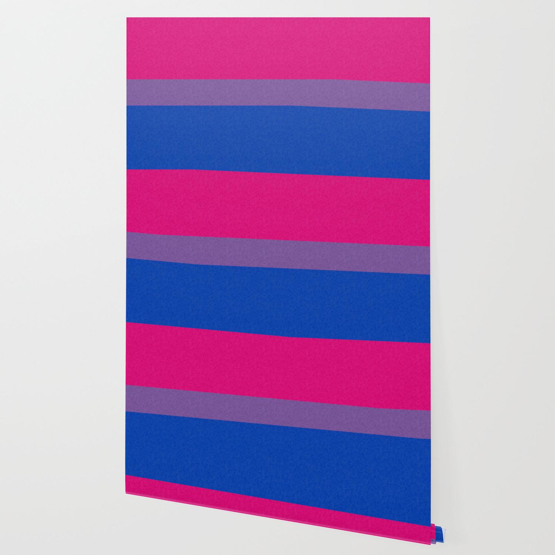 Bisexual Pride Flag Wallpaper