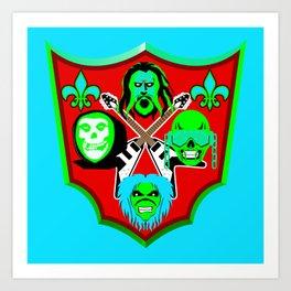 Tribute to Metal Icons Art Print