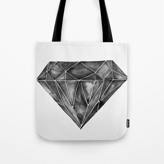 Black Diamond Tote Bag