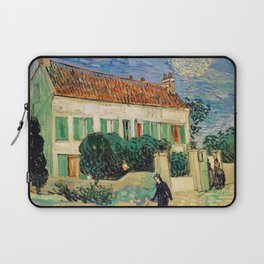 Vincent Van Gogh : White House at Night Laptop Sleeve