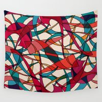 dance Wall Tapestries featuring - dance - by Magdalla Del Fresto