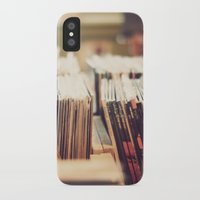 vinyl iPhone & iPod Cases featuring vinyl by Molly Peach